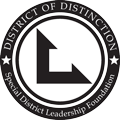 District of Distinction by the California Special District Leadership Foundation Logo
